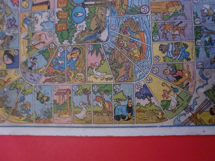 Juegos de mesa: PARCHIS Y JUEGO DE OCA EDITORIAL VALENCIANA ILUSTRADO POR KARPA AÑOS 50 - Foto 8 - 110019287