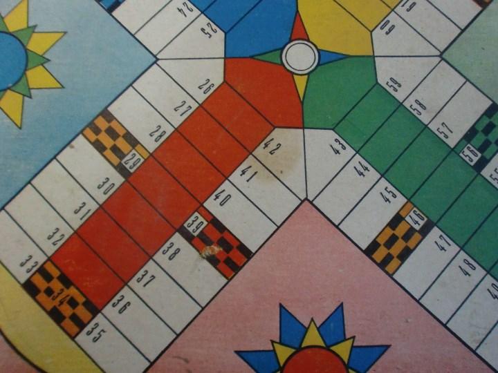 Juegos de mesa: PARCHIS Y JUEGO DE OCA EDITORIAL VALENCIANA ILUSTRADO POR KARPA AÑOS 50 - Foto 13 - 110019287