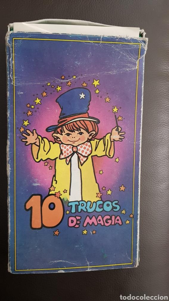 JUEGO 10 TRUCOS DE MAGIA CON INSTRUCCIONES AÑOS 70 (Juguetes - Juegos - Juegos de Mesa)