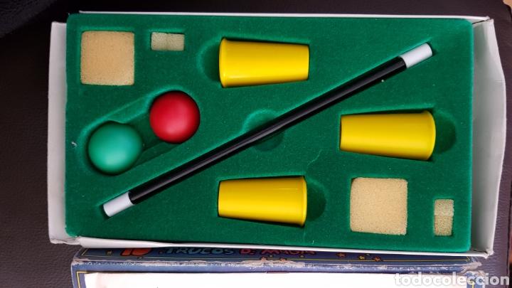 Juegos de mesa: Juego 10 trucos de magia con instrucciones años 70 - Foto 2 - 110035526