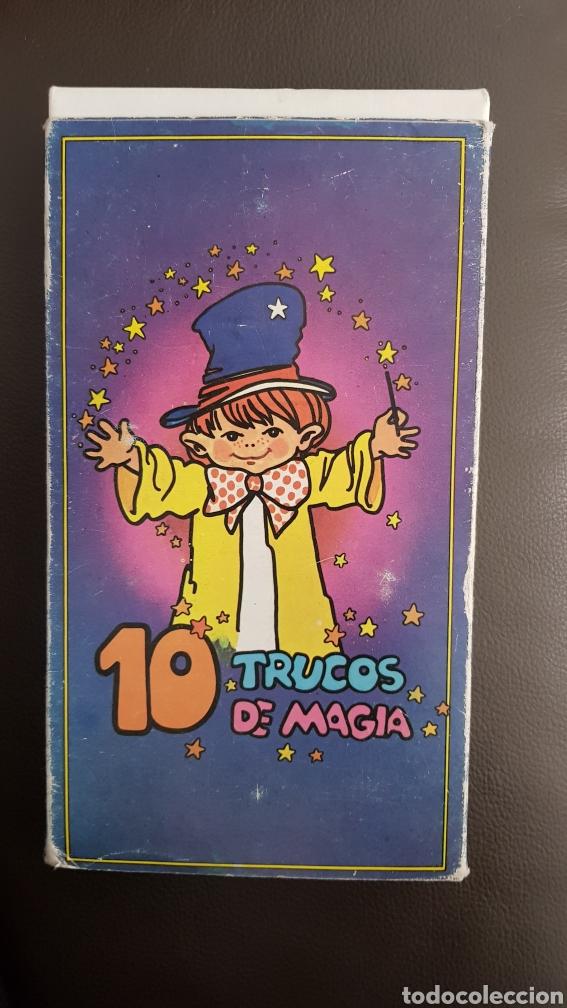 Juegos de mesa: Juego 10 trucos de magia con instrucciones años 70 - Foto 4 - 110035526