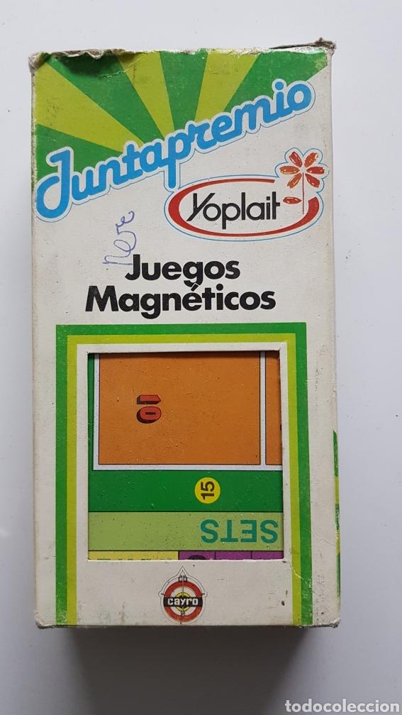 JUNTAPREMIO YOPLAIT JUEGOS MAGNÉTICOS ORIGINAL AÑOS 80 (Juguetes - Juegos - Juegos de Mesa)
