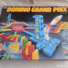 Juegos de mesa: JUEGO DOMINO GRAND PRIX DELUXE TYCO. AÑOS 80.. Lote 110191291