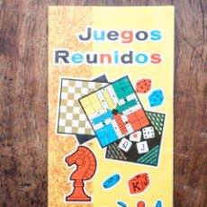Juegos de mesa: INSTRUCCIONES, REGLAMENTOS JUEGOS REUNIDOS GEYPER 10, 15, 20 - AÑOS 60. Lote 110251483