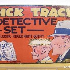 Juegos de mesa: JUEGO DICK TRACY DETECTIVE SET AÑOS 50. HEROE DIBUJOS ANIMADOS.. Lote 110341327