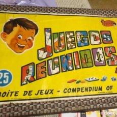 Juegos de mesa: 25 JUEGOS REUNIDOS GEYPER EDICION 1964. Lote 110499723