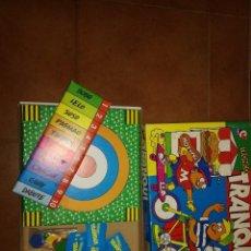 Juegos de mesa: JUEGO DE MESA TRANQUI TRONCO DE CEFA. Lote 110596115