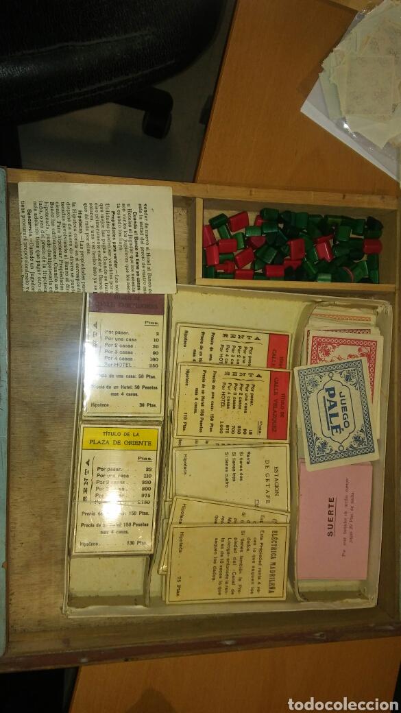 Juegos de mesa: Juego del pale con caja de madera - Foto 4 - 110641060
