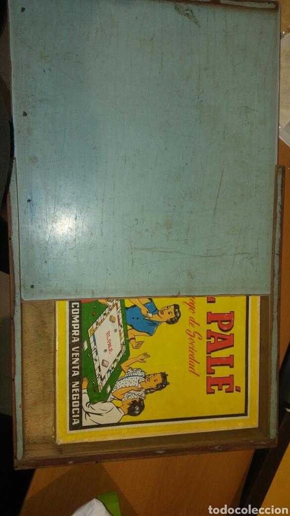 Juegos de mesa: Juego del pale con caja de madera - Foto 7 - 110641060