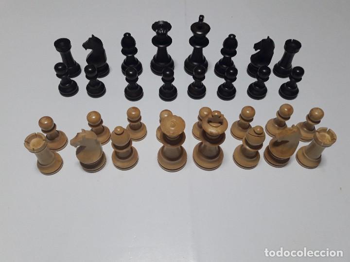 Juegos de mesa: Piezas de ajedrez de madera. Staunton 6. Modelo Europa. - Foto 2 - 110686883