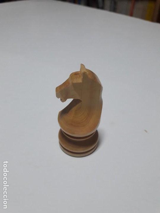 Juegos de mesa: Piezas de ajedrez de madera. Staunton 6. Modelo Europa. - Foto 4 - 110686883