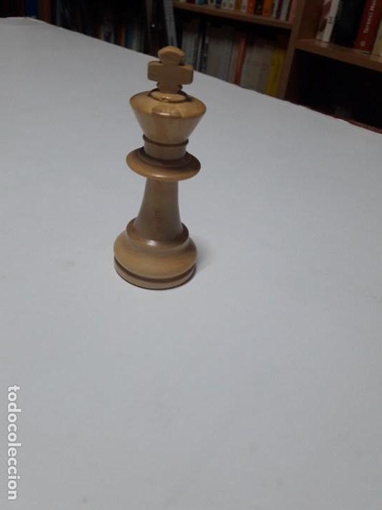 Juegos de mesa: Piezas de ajedrez de madera. Staunton 6. Modelo Europa. - Foto 6 - 110686883