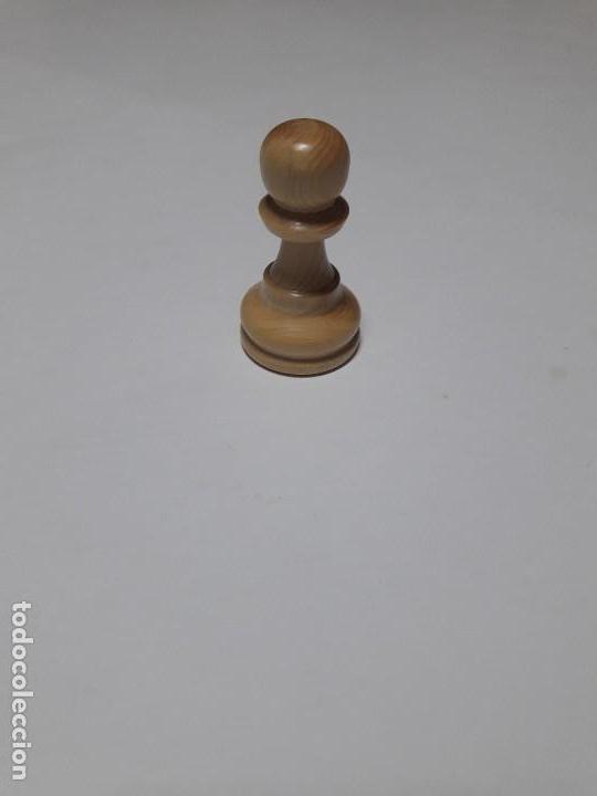 Juegos de mesa: Piezas de ajedrez de madera. Staunton 6. Modelo Europa. - Foto 7 - 110686883