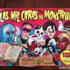 Juegos de mesa: ANTIGUO JUEGO DE AIRGAM - LAS MIL CARAS DEL MONSTRUO - AÑOS 70 - COMO NUEVO SIN JUGAR - PROCEDENTE D. Lote 136338450