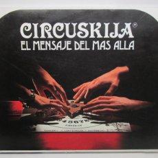 Juegos de mesa: JUEGO DE MESA CIRCUSKIJA,EL MENSAJE DEL MÁS ALLÁ OUIJA. Lote 110834915