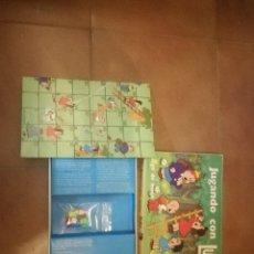 Juegos de mesa: JUEGO DE MESA JUGANDO CON LULU DE NAC. Lote 110909455