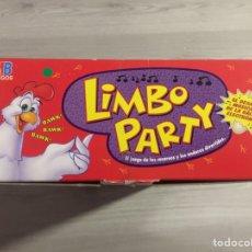 Juegos de mesa: JUEGO DE MESA LIMBO PARTY MB HASBRO SIN USAR. Lote 110936991