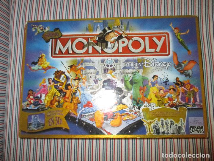 Monopoly Edicion Disney Con Castillo Troquelad Comprar Juegos De