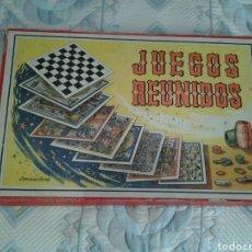 Juegos de mesa: JUEGOS REUNIDOS GEIPER DE 12. Lote 111065639