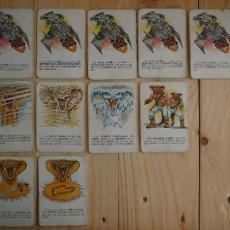 Juegos de mesa: 11 CARTAS FUERZAS MÁGICAS IMPERIO COBRA, CEFA AÑOS 80. Lote 110550291