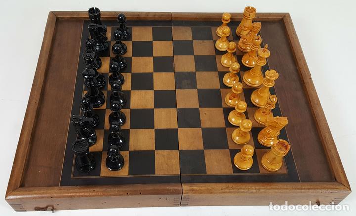 Doble Tablero Ajedrez Y Backgammon Madera Y M Comprar Juegos De