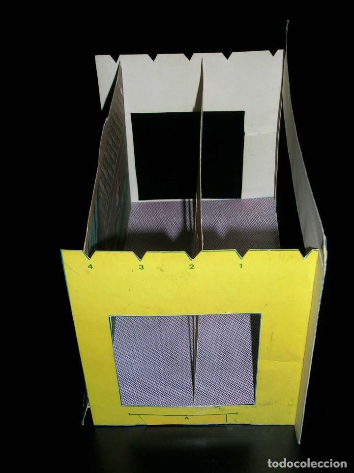 Juegos de mesa: Raro Mini Teatro Teatrín Sanza Estudio, 18 x 13,5 x 10 cms., original años 50? - Foto 5 - 111299575