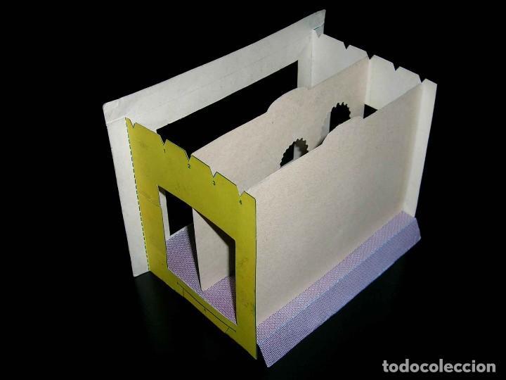 Juegos de mesa: Raro Mini Teatro Teatrín Sanza Estudio, 18 x 13,5 x 10 cms., original años 50? - Foto 6 - 111299575