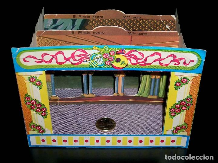 Juegos de mesa: Raro Mini Teatro Teatrín Sanza Estudio, 18 x 13,5 x 10 cms., original años 50? - Foto 7 - 111299575