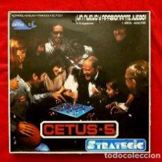 Juegos de mesa: CETUS-5 STRATEGIC 1979 (DIFICIL) FABRICADO POR ESCANDIA (CETUS ANSTALT). Lote 111592451