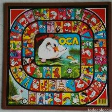 Juegos de mesa: ANTIGUO JUEGO DE LA OCA Y PARCHIS. Lote 111640975