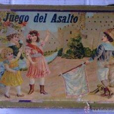 EL ASALTO ANTIGUO JUEGO AÑOS 40 CON REGLAS DEL JUEGO