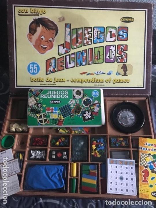 Antiguo Juego Juegos Reunidos Geyper 55 Comprar Juegos De Mesa