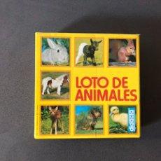 Juegos de mesa: DIDACTA. LOTO ANIMALES. Lote 111868508