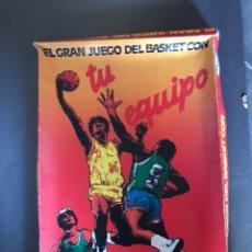 Juegos de mesa: EL GRAN JUEGO DEL BASKET CON TU EQUIPO - POP PUBLIJUEGOS AÑOS 80 -. Lote 111870239