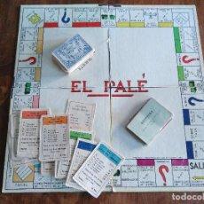 Juegos de mesa: EL PALÉ. JUEGO DE MESA. Lote 111871967