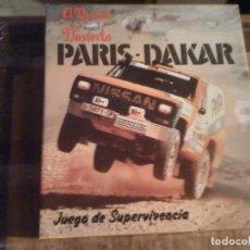 Juegos de mesa: JUEGO PARÍS DAKAR: EL DESAFÍO DEL DESIERTO. JUEGO DE SUPERVIVENCIA. FACTOR GAMES. Lote 111879271