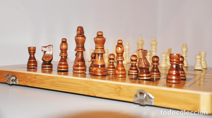 Juegos de mesa: Ajedrez con .Backgammon. - Foto 4 - 111901171