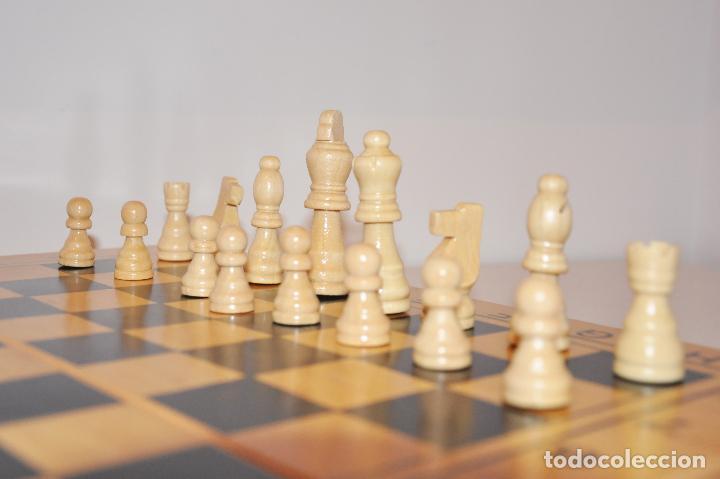 Juegos de mesa: Ajedrez con .Backgammon. - Foto 6 - 111901171