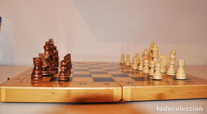 Juegos de mesa: Ajedrez con .Backgammon. - Foto 7 - 111901171
