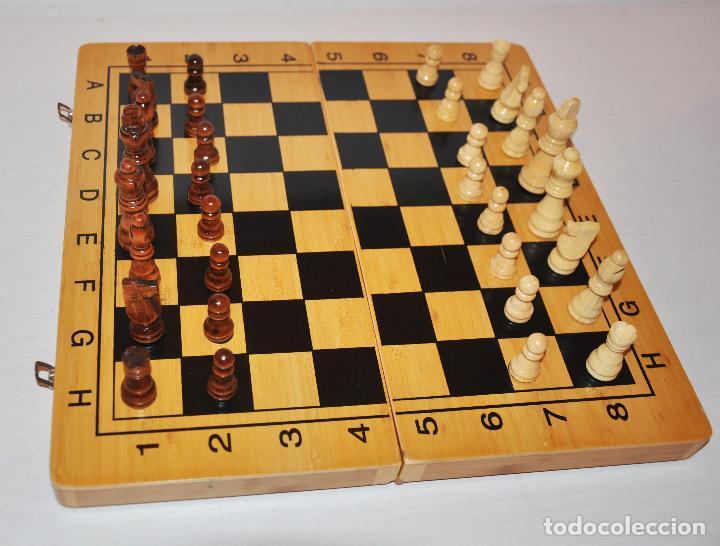 Juegos de mesa: Ajedrez con .Backgammon. - Foto 8 - 111901171