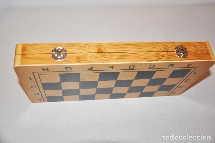 Juegos de mesa: Ajedrez con .Backgammon. - Foto 10 - 111901171