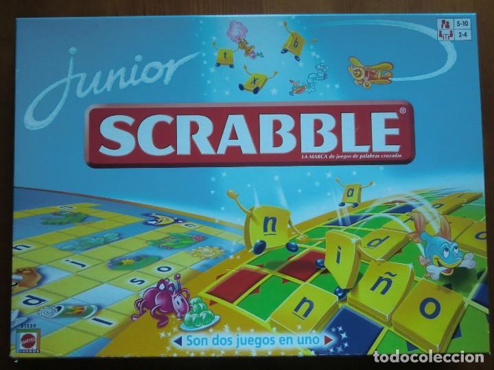 Juego De Mesa Junior Scrabble 2009 De Mattel Comprar Juegos De