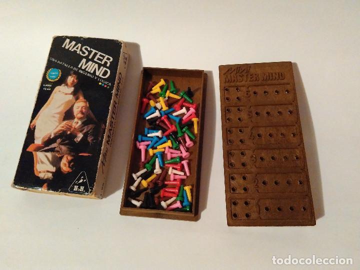JUEGO MINI MASTER MIND. AÑOS 70 (Juguetes - Juegos - Juegos de Mesa)