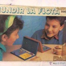 Juegos de mesa: HUNDIR LA FLOTA ,ANTIGUO JUEGO AÑOS 60/70 IDEAL COLECCIONISTAS. Lote 111947767