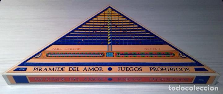 ''PIRÁMIDE DEL AMOR - JUEGOS PROHIBIDOS (NIVEL 1) ''. JUEGO ERÓTICO PARA ADULTOS, DE CEJU, AÑOS 90 (Juguetes - Juegos - Juegos de Mesa)