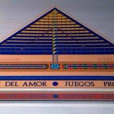 Juegos de mesa: ''PIRÁMIDE DEL AMOR - JUEGOS PROHIBIDOS (NIVEL 1) ''. JUEGO ERÓTICO PARA ADULTOS, DE CEJU, AÑOS 90. Lote 111949767