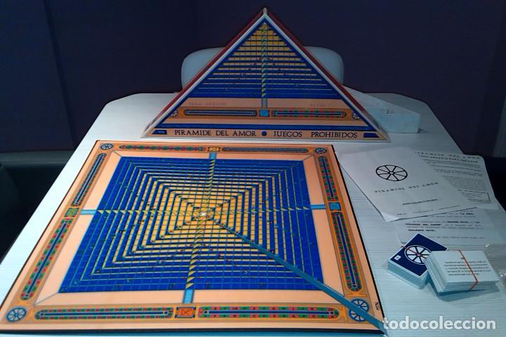 Juegos de mesa: ''PIRÁMIDE DEL AMOR - JUEGOS PROHIBIDOS (NIVEL 1) ''. JUEGO ERÓTICO PARA ADULTOS, DE CEJU, AÑOS 90 - Foto 2 - 111949767