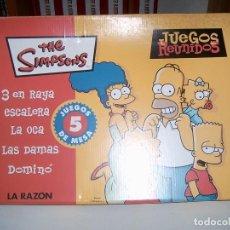 Juegos de mesa: THE SIMPSONS. Lote 111983291