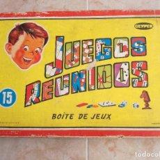 Juegos de mesa: JUEGOS REUNIDOS GEYPER 15. Lote 178918140
