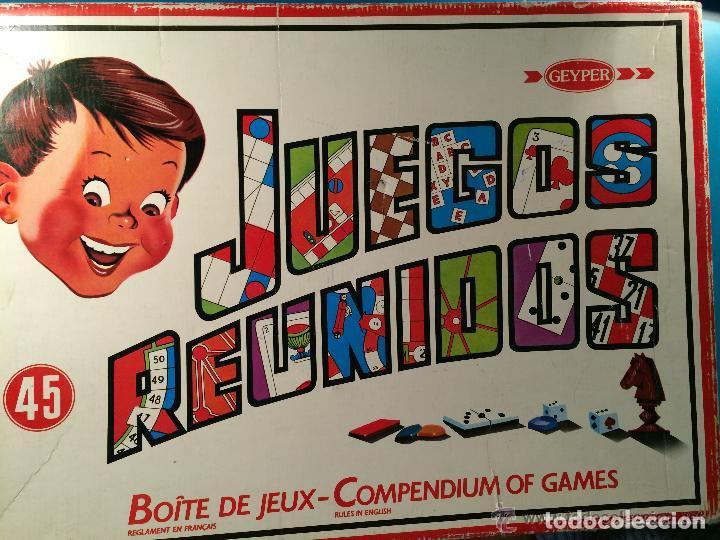 Caja Reunidos Geyper 45 Incompleta Comprar Juegos De Mesa Antiguos